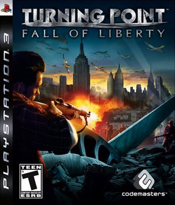 Turning Point: Fall of Liberty PS3 coverM (BLUS30119)