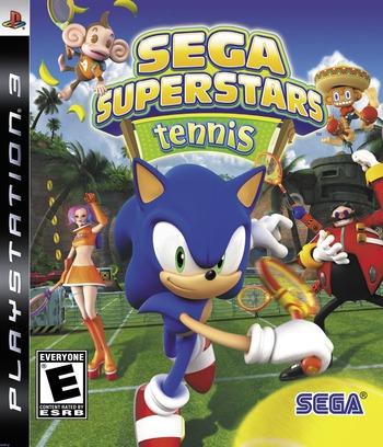 Sega Superstars Tennis PS3 coverM (BLUS30123)