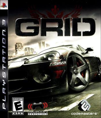 Race Driver: GRID PS3 coverM (BLUS30142)