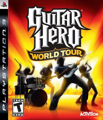Guitar Hero: World Tour PS3 coverM (BLUS30164)