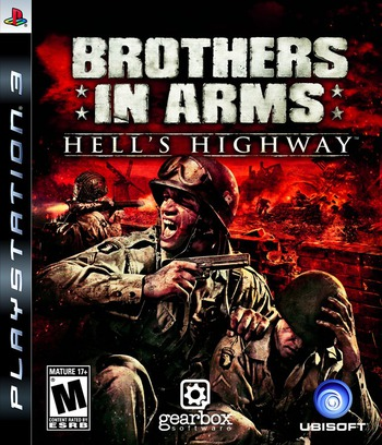 Brothers in Arms: Hell's Highway PS3 coverM (BLUS30165)