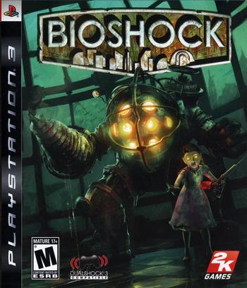 BioShock PS3 coverM (BLUS30166)