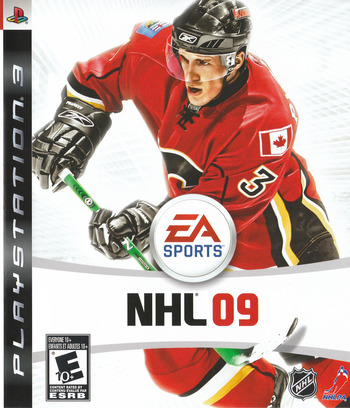 NHL '09 PS3 coverM (BLUS30168)