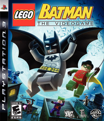 LEGO Batman: The Videogame PS3 coverM (BLUS30175)