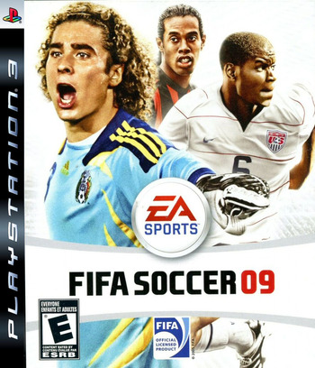 FIFA Soccer '09 PS3 coverM (BLUS30176)
