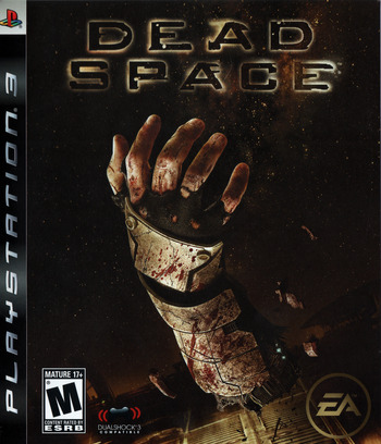 Dead Space PS3 coverM (BLUS30177)