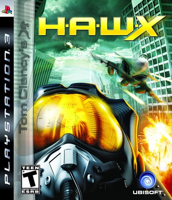 Tom Clancy's H.A.W.X. PS3 coverM (BLUS30186)