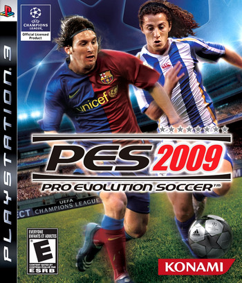 Pro Evolution Soccer 2009 PS3 coverM (BLUS30189)