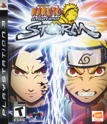 Naruto: Ultimate Ninja Storm PS3 coverM (BLUS30200)