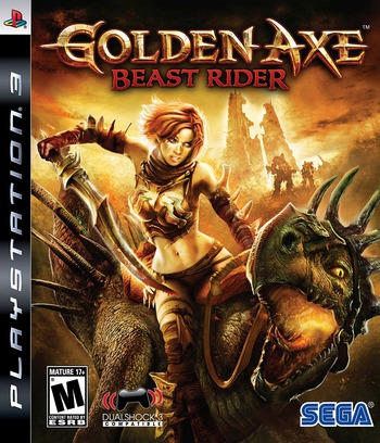 Golden Axe: Beast Rider PS3 coverM (BLUS30209)