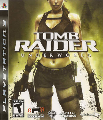 Tomb Raider: Underworld PS3 coverM (BLUS30224)