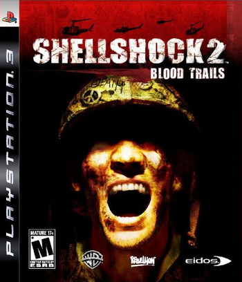 Shellshock 2: Blood Trails PS3 coverM (BLUS30225)