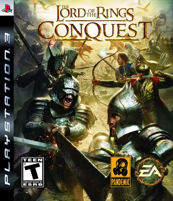 Lord of the Rings: Conquest PS3 coverM (BLUS30226)