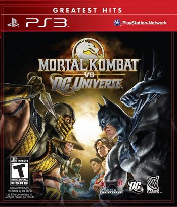 Mortal Kombat vs. DC Universe PS3 coverM (BLUS30246)