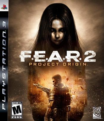 F.E.A.R. 2: Project Origin PS3 coverM (BLUS30251)