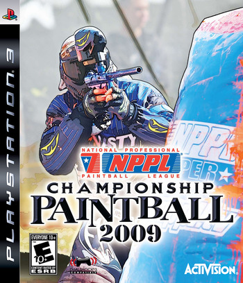NPPL Championship Paintball 2009 PS3 coverM (BLUS30254)