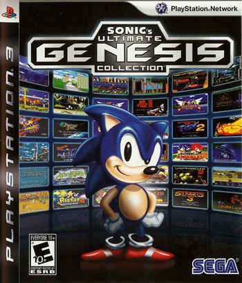 Sonic's Ultimate Genesis Collection PS3 coverM (BLUS30259)