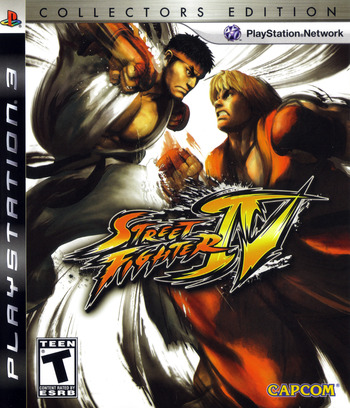 Street Fighter IV (Collector's Edition) PS3 coverM (BLUS30260)