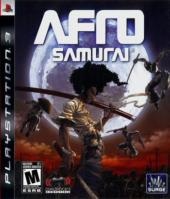 Afro Samurai PS3 coverM (BLUS30264)