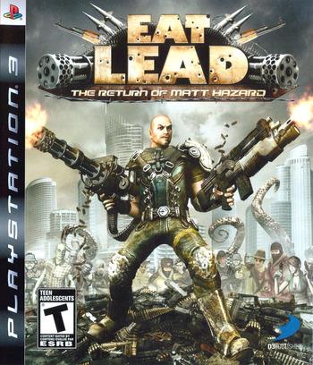 Eat Lead: The Return of Matt Hazard PS3 coverM (BLUS30267)