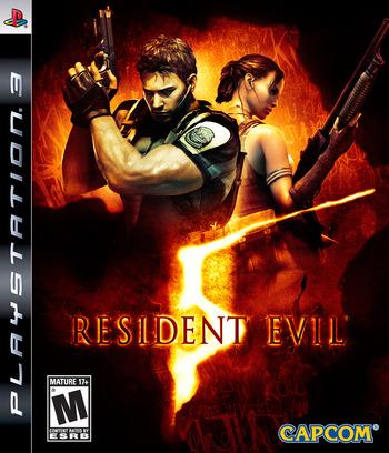 Resident Evil 5 PS3 coverM (BLUS30270)