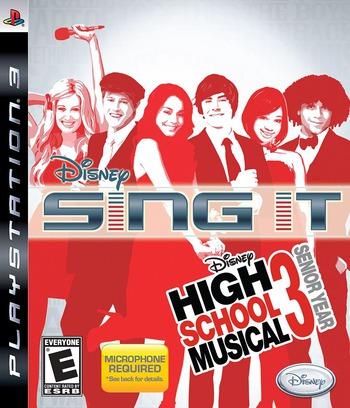 Disney's Sing It! High School Musical 3: Senior Year PS3 coverM (BLUS30274)