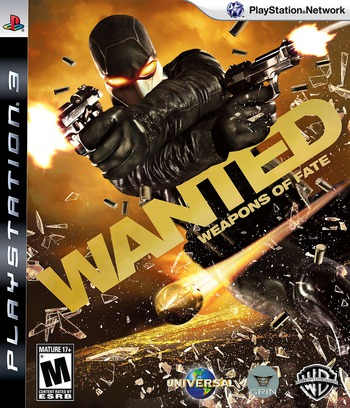 Wanted: Weapons of Fate PS3 coverM (BLUS30275)