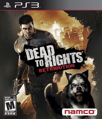 Dead to Rights: Retribution PS3 coverM (BLUS30278)