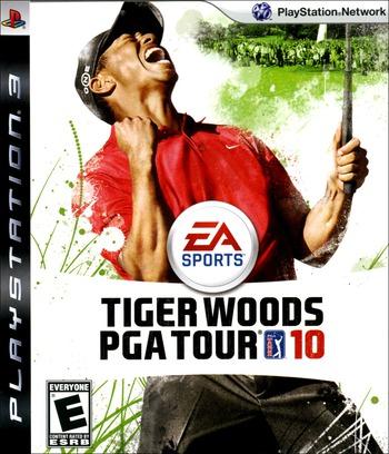 Tiger Woods PGA Tour '10 PS3 coverM (BLUS30286)