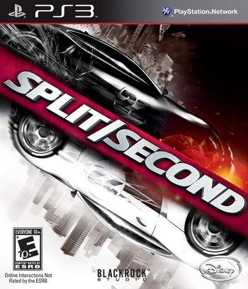 Split / Second PS3 coverM (BLUS30300)