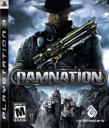 Damnation PS3 coverM (BLUS30304)