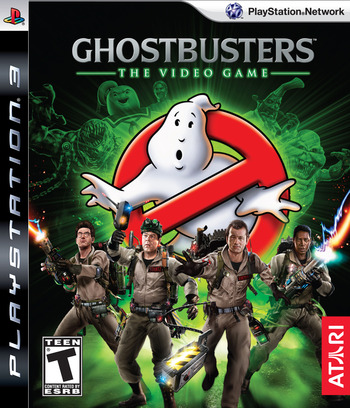 Ghostbusters: The Video Game PS3 coverM (BLUS30307)
