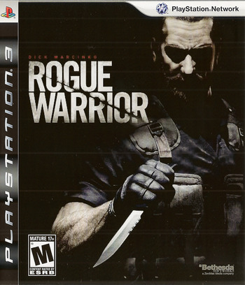 Rogue Warrior PS3 coverM (BLUS30311)