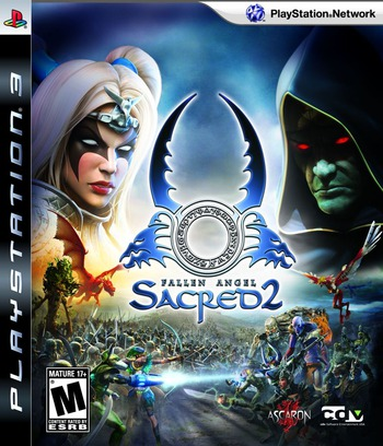 Sacred 2: Fallen Angel PS3 coverM (BLUS30312)