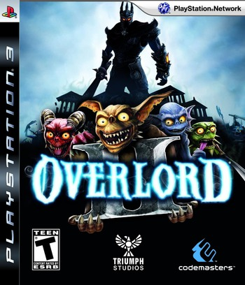 Overlord II PS3 coverM (BLUS30317)