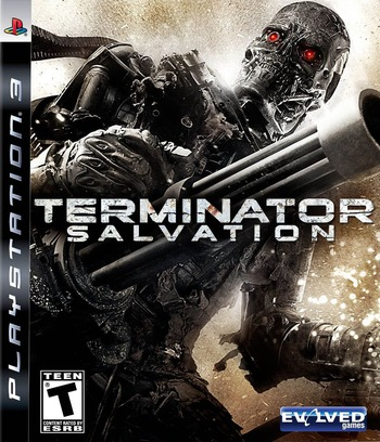 Terminator: Salvation PS3 coverM (BLUS30318)