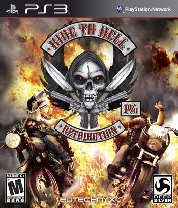 Ride to Hell: Retribution PS3 coverM (BLUS30324)