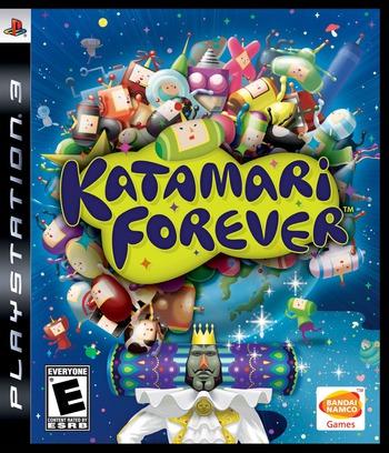 Katamari Forever PS3 coverM (BLUS30336)