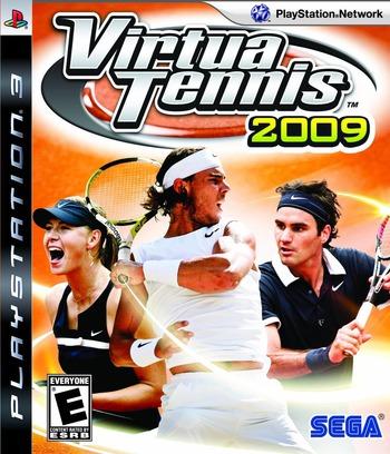 Virtua Tennis 2009 PS3 coverM (BLUS30343)