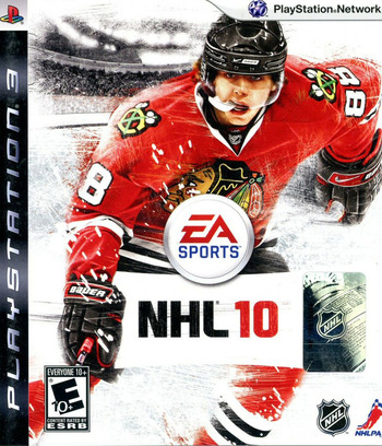 NHL '10 PS3 coverM (BLUS30345)