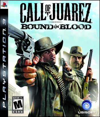 Call of Juarez: Bound in Blood PS3 coverM (BLUS30347)