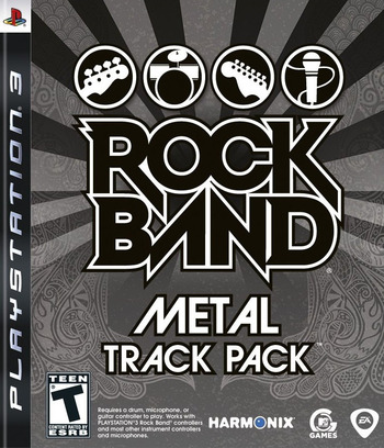 Rock Band: Metal Track Pack PS3 coverM (BLUS30352)