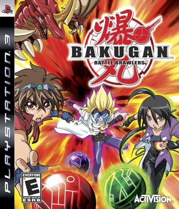 Bakugan Battle Brawlers PS3 coverM (BLUS30356)