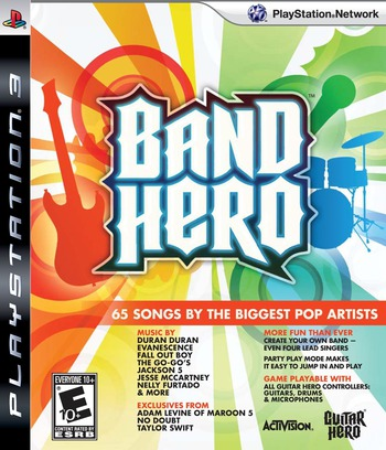 Band Hero PS3 coverM (BLUS30372)