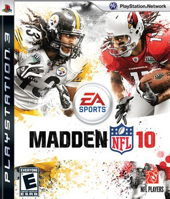 Madden NFL '10 PS3 coverM (BLUS30375)