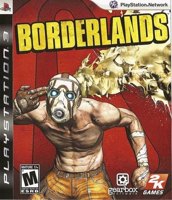 Borderlands PS3 coverM (BLUS30386)