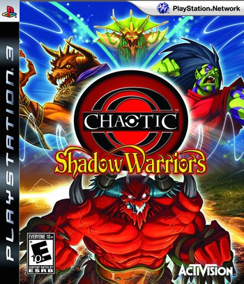 Chaotic: Shadow Warriors PS3 coverM (BLUS30389)