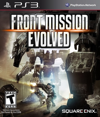 Front Mission Evolved PS3 coverM (BLUS30395)