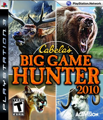 Cabela's Big Game Hunter 2010 PS3 coverM (BLUS30396)