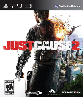 Just Cause 2 PS3 coverM (BLUS30400)